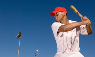 baseball-batter-preparing-to-hit-ball-picture-id536311505